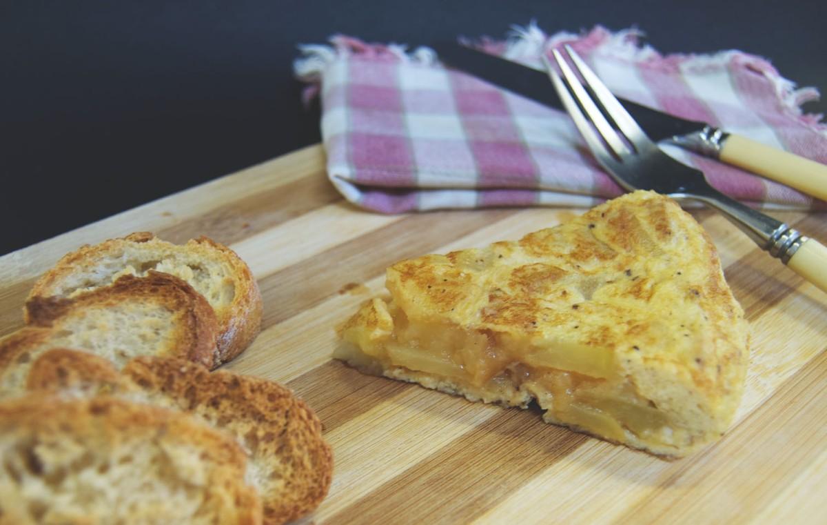 Tortilla de patatas Puredepalabras