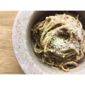 Spaghetti con setas Puredepalabras