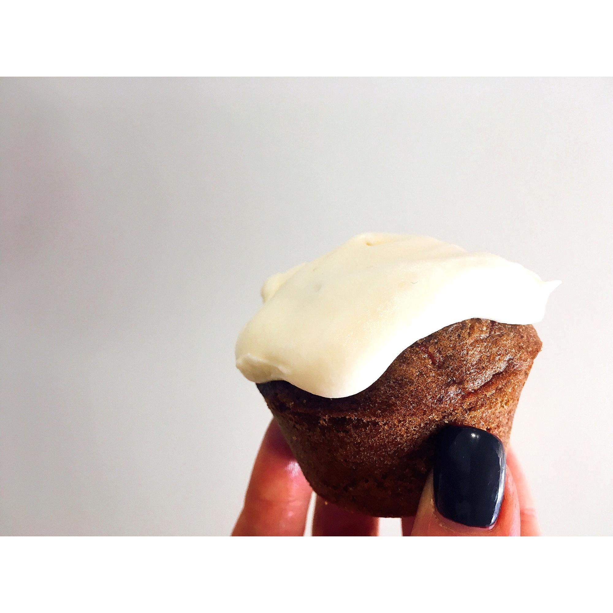 Carrot cupcake - Carrot cake - puredepalabras