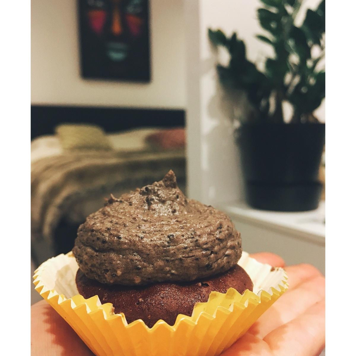 Cupcakes de Oreo puredepalabras