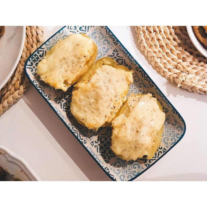 Patatas con parmesano. Patatas parmesana