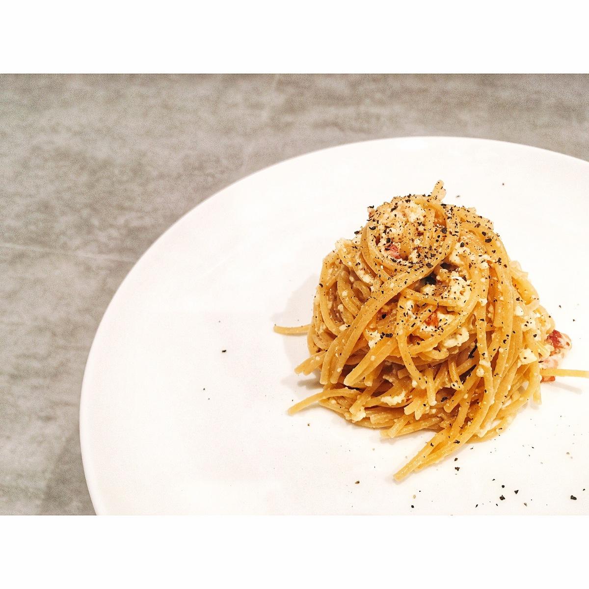 auténticos spaghetti alla carbonara