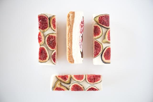 Pastel de queso con higos puredepalabras