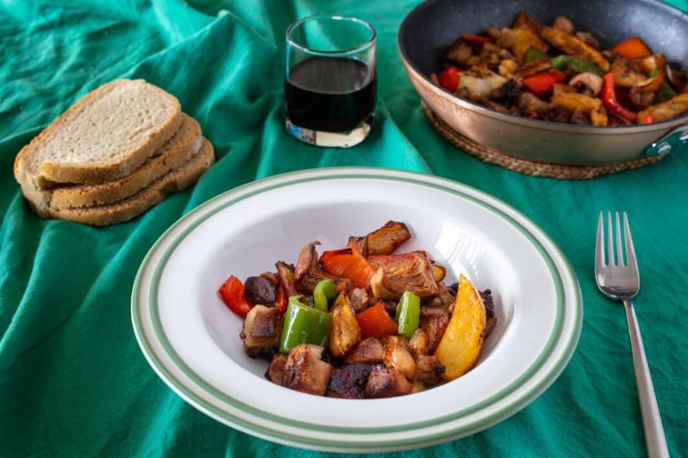 frita de cerdo ibicenco puredepalabras
