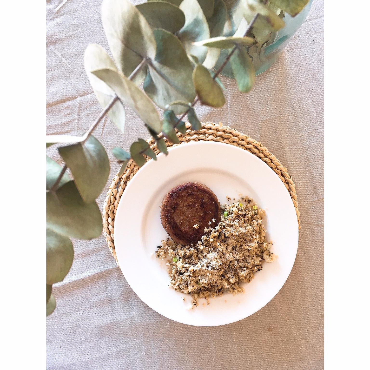 Coliarroz o falso arroz de coliflor puredepalabras