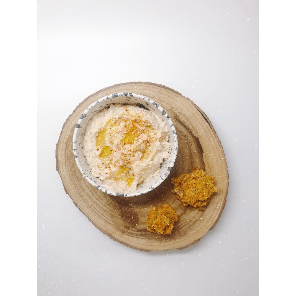 Hummus de alubias blancas. Foto: @puredepalabras
