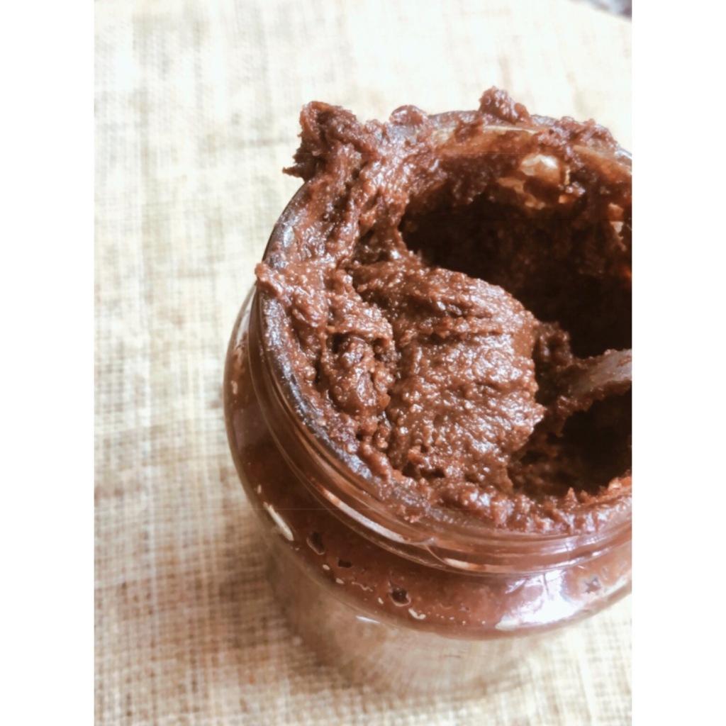 Nutella casera sin azúcar. Foto: @puredepalabras