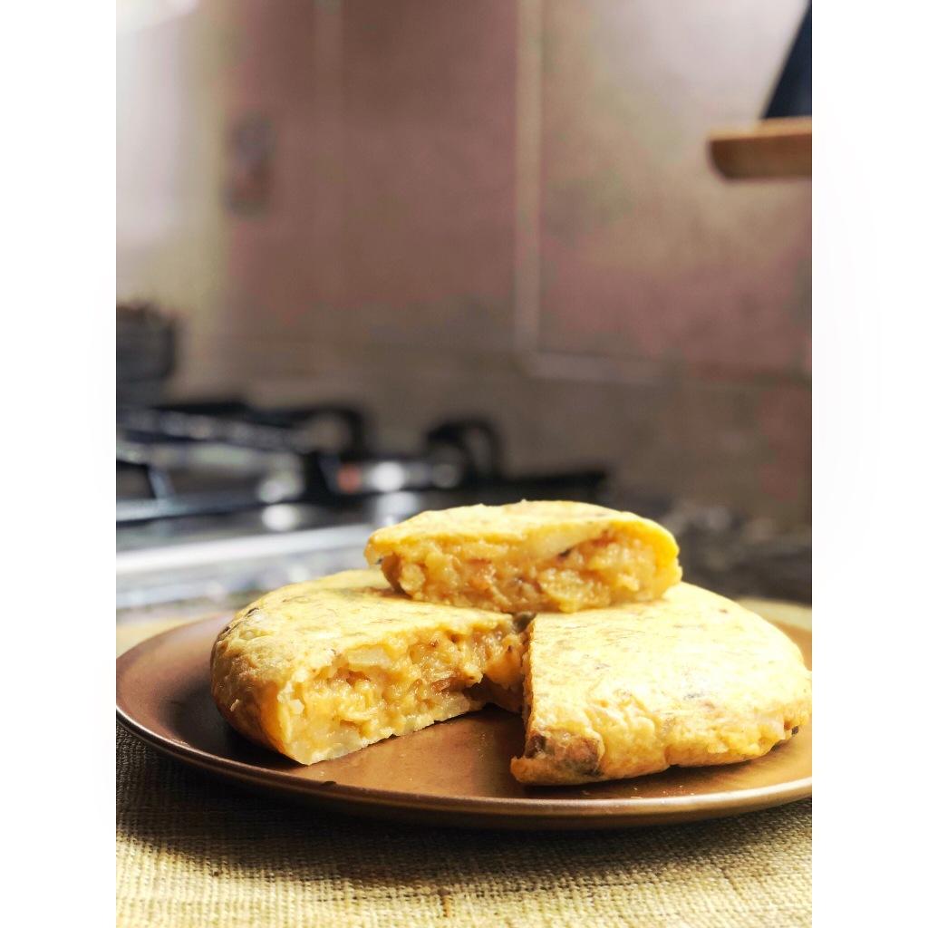 Tortilla de patatas. Foto: @puredepalabras