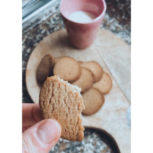 Ginger & Cinnamon butter cookies