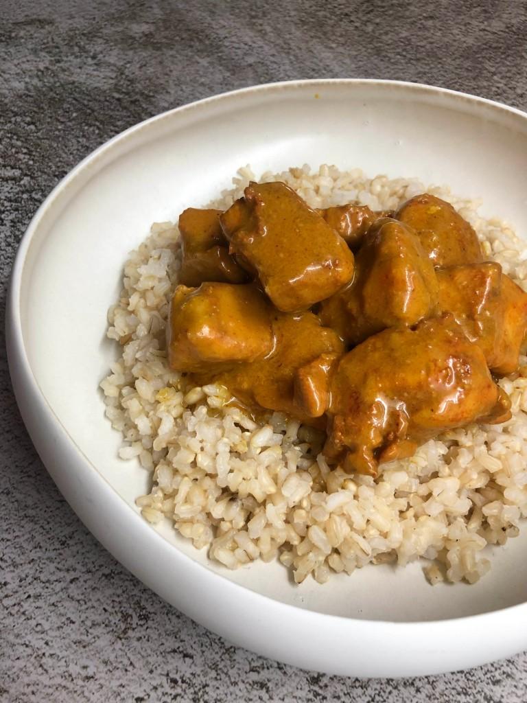 Pollo al curry express. Foto:@puredepalabras